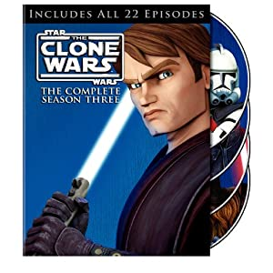Star Wars: The Clone Wars: The Complete Season Three on DVD