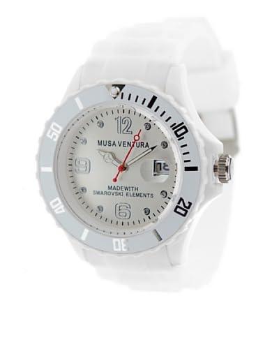Musaventura Reloj de cuarzo Sw Blanco 43  mm