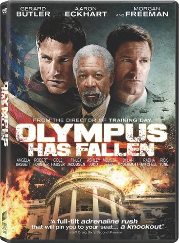 Olympus Has Fallen DVD case