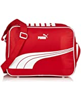 Puma Sole Reporter Messenger Bag Ribbon Red / Whit