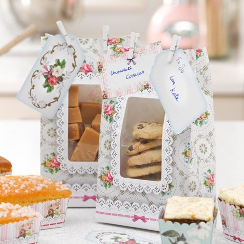 Frills & Frosting Decorative Party Favor Cookie Bags