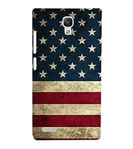EPICCASE USA Mobile Back Case Cover For Xiaomi Redmi Note (Designer Case)