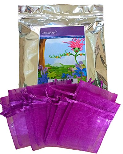 Zziggysgal 1/2 Lb Dried French Lavender With 10 Drawstring Sachets, Factory Sealed In Triple Foil Re-Closable Bag.