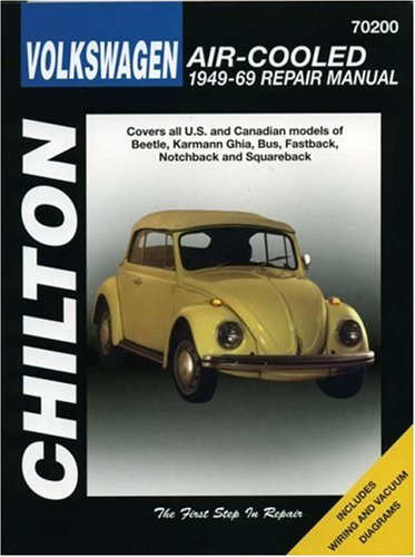 Volkswagen Air-Cooled, 1949-69 (Chilton Total Car Care)