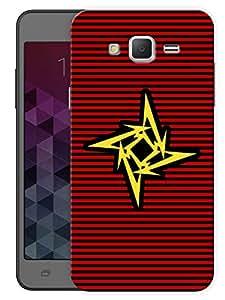 "Humor Gang Metallica Minimal Printed Designer Mobile Back Cover For ""Samsung Galaxy j3"" (3D, Matte, Premium Quality Snap On Case)"