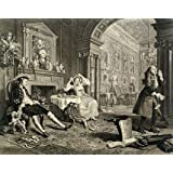 Marriage a la Mode, Plate II, by William Hogarth (V&A Custom Print)