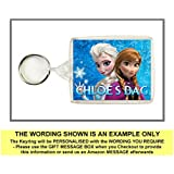Personalised FROZEN Keyring / Bag Tag - Ideal for Lunch Boxes, School Bags etc.