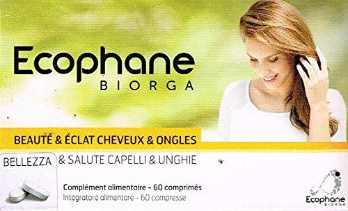 Ecophane Biorga bellezza e salute unghie e capelli 60 compresse