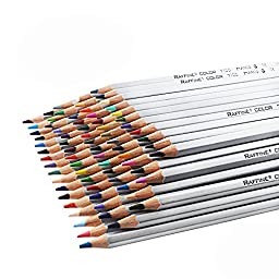 72 Color Art Drawing Oil Non-toxic Pencils Set For Artist Sketch