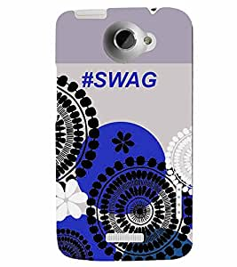 PrintVisa Quotes & Messages SWAG 3D Hard Polycarbonate Designer Back Case Cover for HTC One X