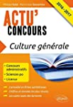 Culture G�n�rale 2016-2017 Concours A...