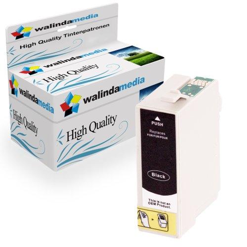 Walindamedia 1 x Druckerpatrone Ersatz für Epson T2431 XL Tinte black, 13ml Ersatz für Epson (C13T24314010) ( Epson T2431xl, EpsonT2431xl, ,EpsonT2431 xl, ),schwarz,bk, Original Royalserie