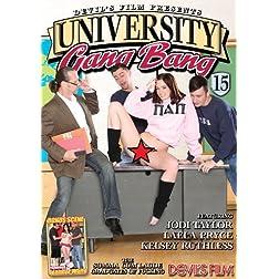 University Gang Bang # 15