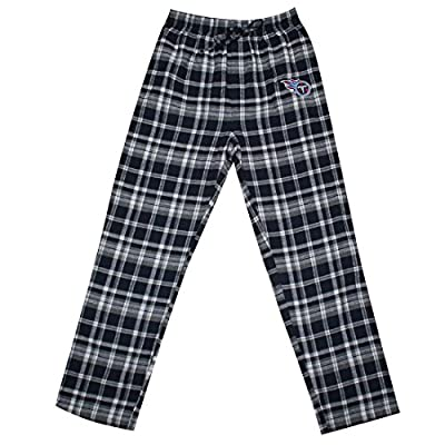BIG & TALL Mens Tennessee Titans Plaid Pajama Pants