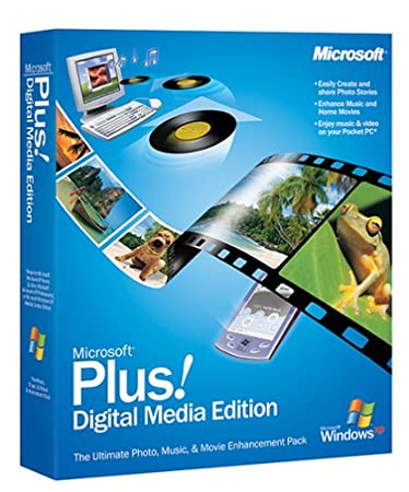 Microsoft Plus Digital Media Edition - Old Version