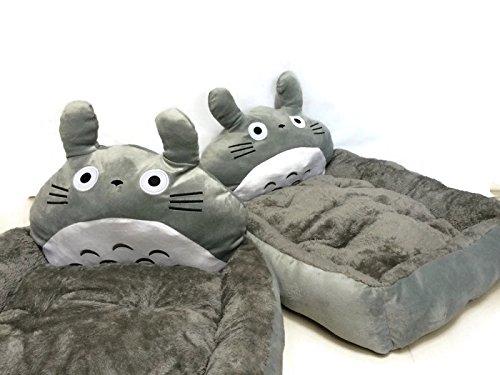 Pet Dog Cat Cute Design Sleeping Cushion Bed Medium Large Totoro