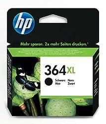HP Cartucho de tinta - CN684EE - n.º 364 XL, color negro