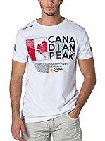 CANADIAN PEAK Camiseta Manga Corta Jiltord (Blanco)
