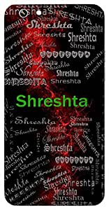 Shreshta (Lord Vishnu) Name & Sign Printed All over customize & Personalized!! Protective back cover for your Smart Phone : Samsung Galaxy Note-4