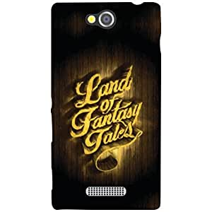 Sony Xperia C Back Cover - Land Of Courtesy Designer Cases