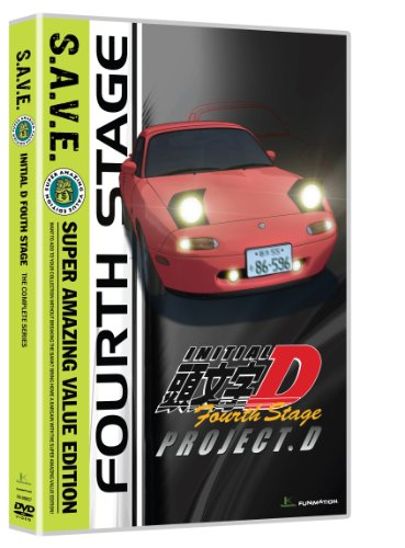 DVD : Initial D: Stage 4 - S.A.V.E. (Boxed Set, 4 Disc)