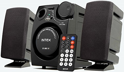 Intex IT-881U 2.1 Channel Computer Multimedia home theater Speakers  available at amazon for Rs.999