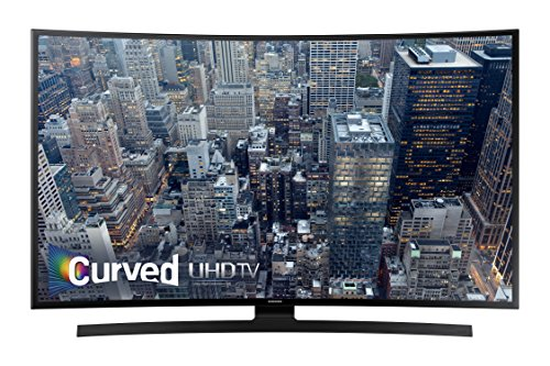 Find Bargain Samsung UN55JU6700 Curved 55-Inch 4K Ultra HD Smart LED TV (2015 Model)