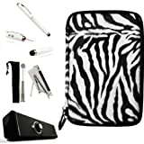 Animal Fur Design Cube Case with Interior Mesh Pocket For HTC Flyer 7-inch Android Tablet + Includes a Supertooth...