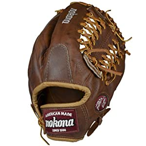 Nokona WB-1275M Walnut Baseball Glove 12.75 inch (Right Handed Throw)