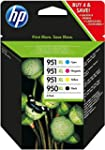 HP 950XL/951XL 4er-Pack Schwarz/Cyan/...