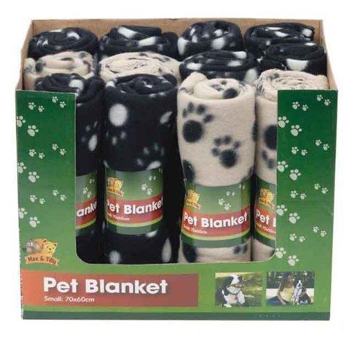 Artikelbild: BML - Hund Hundebaby Katze Kleine Katze Haustier Kleine Fleece Decke Mit Tatzen Muster