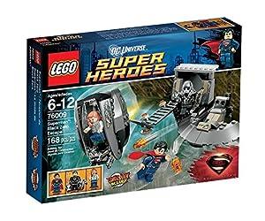 Lego Super Heroes - DC Universe - 76009 - Jeu de Construction - L'évasion de Black Zéro - Superman