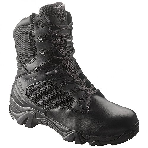 Police Boots Leather Waterproof Cushioned Ballistic Nylon Sl