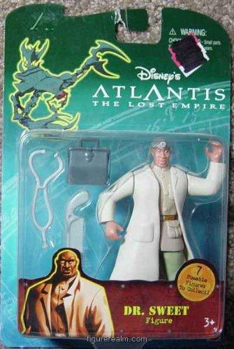"Buy Low Price Mattel ""Atlantis"" Dr. Sweet action figure from ""Disney"" (B0017DOIP2)"