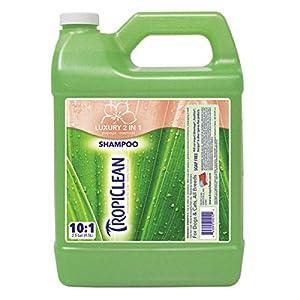 TropiClean Papaya Plus Pet Shampoo with Oatmeal, 1-Gallon