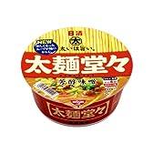 日清 太麺堂々 芳醇味噌 112g×12個