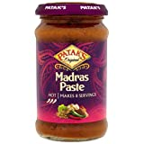 Patak's Madras Paste 283 g (Pack of 6)by Patak's