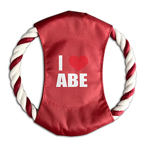 durable-i-love-abe-i-love-abraham-heart-dog-flying-sport-rope-pet-chew-frisbee-playing-toy-75-3-colo
