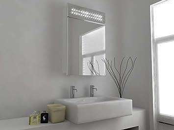 Specchio Del Bagno Con Illuminazione LEDStazione MeteoAltoparlanteLED59