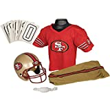 Franklin Sports NFL San Francisco 49ers Deluxe Youth Uniform Set, Medium
