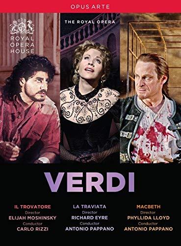 DVD : Verdi: Il Trovatore / La Traviata / Macbeth (3 Discos)
