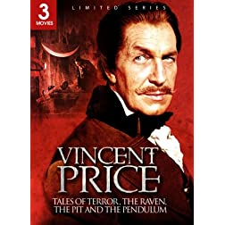 Vincent Price 3 Pack (The Raven/The Pit and the Pendulum/Tales of Terror)