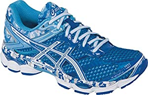 ASICS Women's Gel-Cumulus 16 BR Running Shoe,Aqua/White/Blue Ribbon,8.5 M US