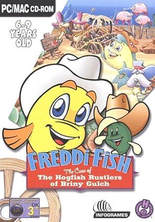 Freddi Fish Hogfish Rustler Of Briny Gulch