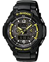 Casio Men's G-Shock Combi Watch Gw-3500B-1Aer With Solar Powered Radio Controlled Resin Strap