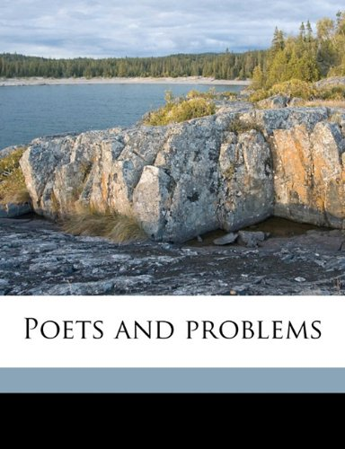 Poets and problems