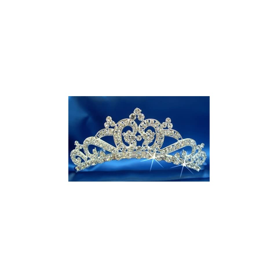 e5c3453fdc3194 Bridal Wedding Tiara Crown 5723L5 on PopScreen