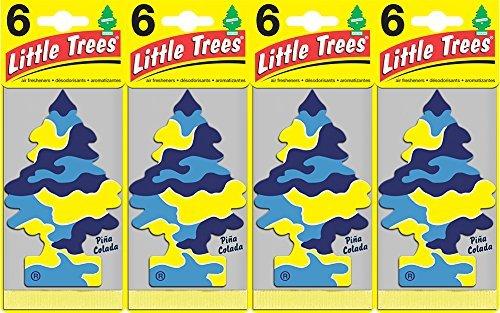 Little Trees Piña Colada Air Freshener, (Pack of 24) (Air Freshener Pina Colada compare prices)