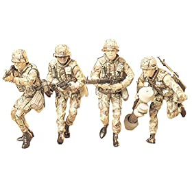 U.S. Modern Army Infantry Set Military Model Kit