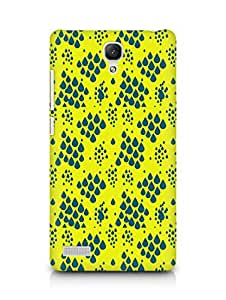 Amez designer printed 3d premium high quality back case cover for Xiaomi Redmi Note Prime (Rain Patten3)
